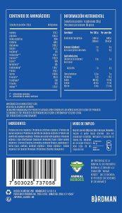aminoácidos vainilla chocolate nutrimental libre lácteos sin soya sin químicos kosher sagarpa orgánico